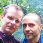 Oleg Pawliszcze i Andrzej Krystaszek