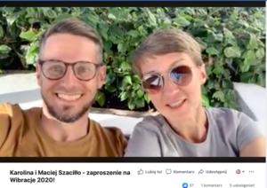 Karolina i Maciej Szaciłło Festiwal Wibracje