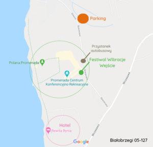 mapa terenu festiwal wibracje